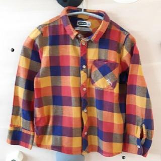 フタフタ(futafuta)のfutafuta 120cmネルシャツ(ブラウス)