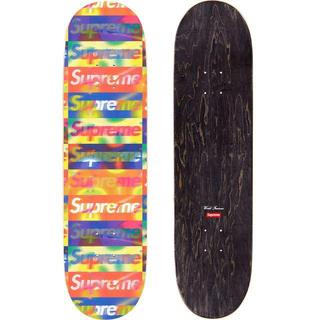 込み supreme Distorted Logo Skateboard (その他)