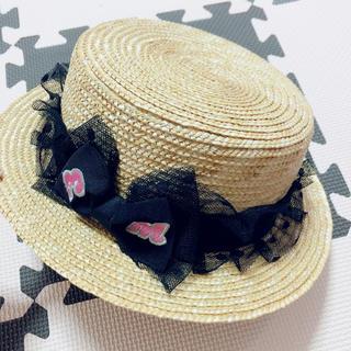 アースマジック(EARTHMAGIC)のカンカン帽52cm(帽子)