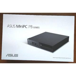 エイスース(ASUS)の新品ベアボーンASUS Mini PC Celeron N4000 VESA付属(デスクトップ型PC)