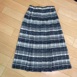 クリスチャンディオール(Christian Dior)の美品!dior クリスチャン ディオール チェック ロングスカート(ロングスカート)