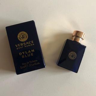 ヴェルサーチ(VERSACE)のVERSACE(ディランブルー オーデトワレ)5ml(香水(男性用))