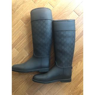 グッチ(Gucci)のグッチ レインブーツ サイズ38(24cm程度)(レインブーツ/長靴)