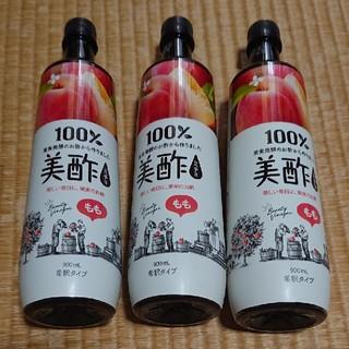 コストコ(コストコ)の美酢〔ミチョ〕 もも 900ml × 3本(ソフトドリンク)