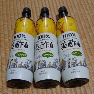 コストコ(コストコ)の美酢〔ミチョ〕 パイナップル  900ml × 3本(ソフトドリンク)