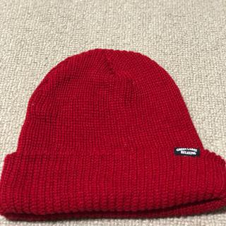 ユナイテッドアローズ(UNITED ARROWS)の赤ニット帽(ニット帽/ビーニー)