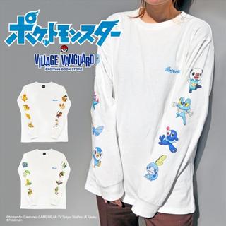 ポケモン(ポケモン)のロンT くさ ヴィレッジヴァンガード Village Vanguard(Tシャツ/カットソー(七分/長袖))
