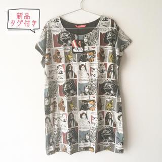 グラニフ(Design Tshirts Store graniph)のグラニフ  STARWARS スターウォーズ ワンピース(その他)
