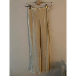 エディットフォールル(EDIT.FOR LULU)のeditforlulu satin skirt(ロングスカート)