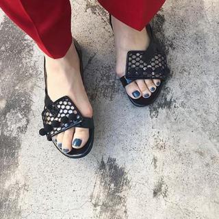トーガ(TOGA)のririka様専用 TOGAトーガ新品Metal ball sandal 37(サンダル)
