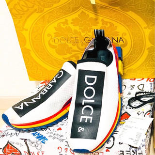 ドルチェアンドガッバーナ(DOLCE&GABBANA)のDOLCE&GABBANA  SOLENTドルチェ&ガッバーナ【定価8万→4万】(スニーカー)