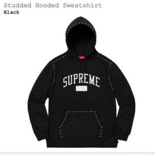 シュプリーム(Supreme)のSupreme  Studded Hooded パーカー キムタク私物(パーカー)