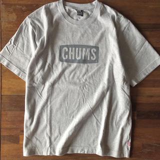 チャムス(CHUMS)のCHUMS ヘビーウエイト チャムスロゴTシャツ グレー(Tシャツ(半袖/袖なし))