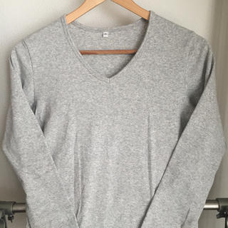 ムジルシリョウヒン(MUJI (無印良品))の無印良品 Vネック カットソー(Tシャツ(長袖/七分))