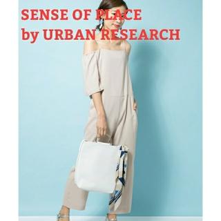 センスオブプレイスバイアーバンリサーチ(SENSE OF PLACE by URBAN RESEARCH)の未使用 センスオブプレイス アーバンリサーチ オールインワン サロペット パンツ(オールインワン)