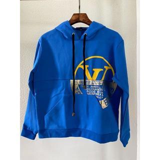ルイヴィトン(LOUIS VUITTON)のLouisVuitton ワールドシール スウェットシャツ(パーカー)