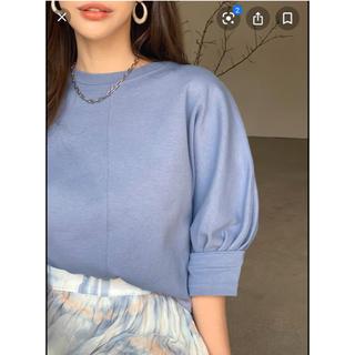 ディーホリック(dholic)のラインディテールパフTシャツ(Tシャツ/カットソー(半袖/袖なし))
