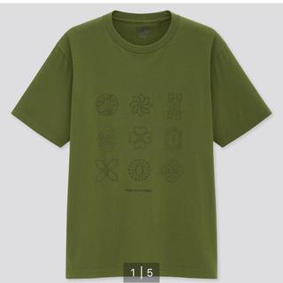 ユニクロ(UNIQLO)の新品 鬼滅の刃 ユニクロ メンズ M 半袖 Tシャツ(Tシャツ/カットソー(半袖/袖なし))