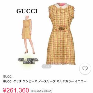 グッチ(Gucci)のGucci 希少ワンピ(ミニワンピース)