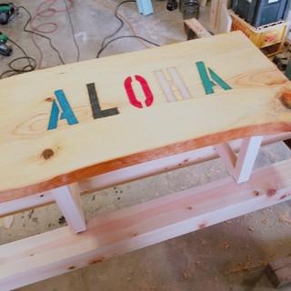 ALOHAミニテーブル(ローテーブル)