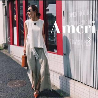 Ameri VINTAGE - 【超美品❗️】Ameri vintage サマーニット フリンジタンクトップ