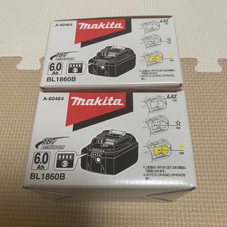 マキタ(Makita)のマキタ18V バッテリー 2個 新品(バッテリー/充電器)
