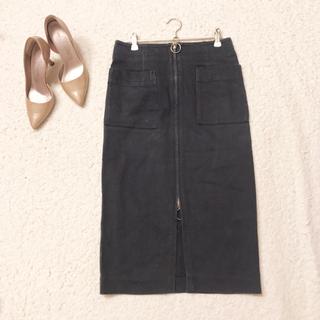 ノーブル(Noble)のNOBLE◇サイズ36◇ジップ タイトスカート(ひざ丈スカート)