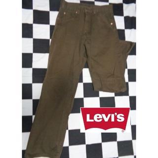 リーバイス(Levi's)の【リーバイス】512W30ブラウンピケデニムストレートジーンズGパン(チノパン)