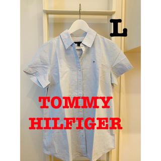 トミーヒルフィガー(TOMMY HILFIGER)のほぼ新品未使用!TOMMY HILFIGER 半袖シャツ!(シャツ/ブラウス(半袖/袖なし))