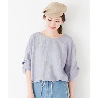アーバンリサーチロッソ(URBAN RESEARCH ROSSO)の美品 アーバンリサーチ ロッソ リボンスリーブプルオーバー 半袖 夏服 セール (Tシャツ(半袖/袖なし))