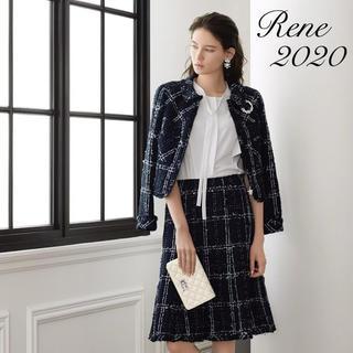 ルネ(René)の新品同様【Rene】2020年DM掲載リントンツイードセットアップ(スーツ)