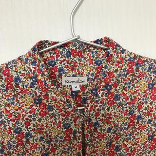 スティーブンアラン(steven alan)のsteven alan チャイナカラーシャツ(シャツ/ブラウス(半袖/袖なし))