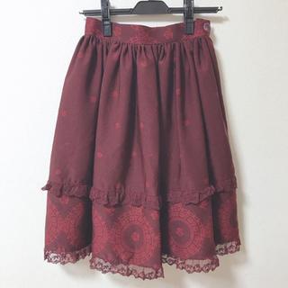 イノセントワールド(Innocent World)のInnocent World メリーローズスカート(ひざ丈スカート)