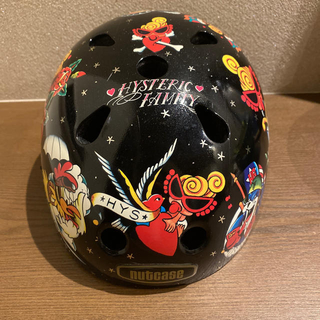 ヒステリックミニ(HYSTERIC MINI)のヒスミニ×nutcase ヘルメット 46-52 XS  幼児低学年用(ヘルメット/シールド)
