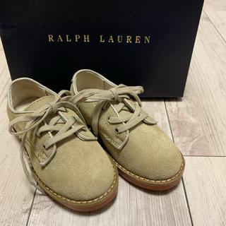 ラルフローレン(Ralph Lauren)の新品!POLO RALPH LAUREN スエード靴(ローファー)