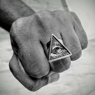 プロビデンスの目 指輪 リング(リング(指輪))