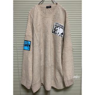 ラフシモンズ(RAF SIMONS)の新品 米津玄師 着【 Raf Simons 】Oversized Sweater(ニット/セーター)