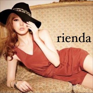 rienda - rienda ウエストリボン ロンパース オールインワン♡ロイヤルパーティー