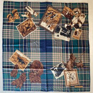 ラルフローレン(Ralph Lauren)のラルフローレン スカーフ 犬柄(バンダナ/スカーフ)