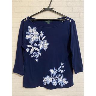 ラルフローレン(Ralph Lauren)のラルフローレン 7分丈コットンシャツ Lサイズ(Tシャツ(長袖/七分))