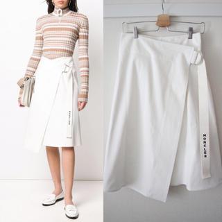 モンクレール(MONCLER)のラップスカート(ひざ丈スカート)