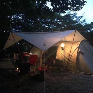 ドッペルギャンガー(DOPPELGANGER)のカマボコテント2 チーズタープ ビッグタープポールセット(テント/タープ)