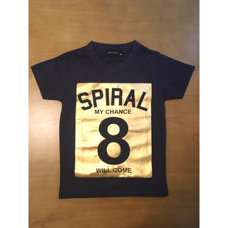 シスキー(ShISKY)の【新品】SHISKY キッズ Tシャツ 110 ネイビー 送料無料(Tシャツ/カットソー)