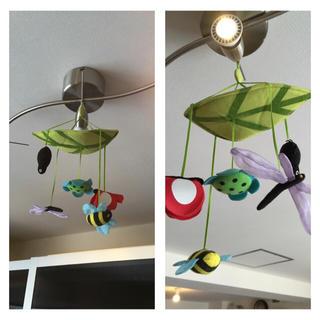 IKEA/吊し飾り(オルゴールメリー/モービル)