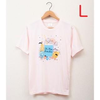 サンリオ(サンリオ)の【新品未使用】Lサイズ MR.MEN LITTLE MISS 半袖Tシャツ!(Tシャツ/カットソー(半袖/袖なし))
