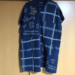 ドラッグストアーズ(drug store's)のdrug store's 紺色シャツ(シャツ/ブラウス(長袖/七分))