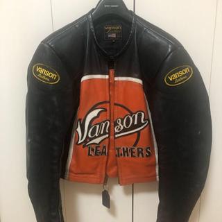 VANSON - VANSON バンソン ライダース