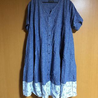ドラッグストアーズ(drug store's)のdrug store's 大きな青い服(チュニック)