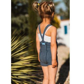 ボボチョース(bobo chose)のSILLY SILAS Suspender Shorts Steel Blue(靴下/タイツ)