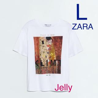 ザラ(ZARA)の【タグ付き新品】ザラ クリムト KLIMT Tシャツ 接吻 KISS(Tシャツ(半袖/袖なし))